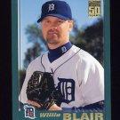 2001 Topps Baseball #538 Willie Blair - Detroit Tigers