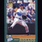 2001 Topps Baseball #430 Jose Rosado - Kansas City Royals