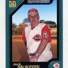 2001 Topps Baseball #332 Jack McKeon MG - Cincinnati Reds