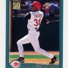 2001 Topps Baseball #132 Michael Tucker - Cincinnati Reds