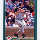 2001 Topps Baseball #029 Eddie Taubensee - Cincinnati Reds