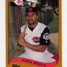 2002 Topps Baseball #619 Ruben Mateo - Cincinnati Reds