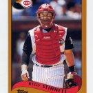 2002 Topps Baseball #381 Kelly Stinnett - Cincinnati Reds