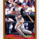 2002 Topps Baseball #092 Aaron Boone - Cincinnati Reds