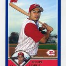 2003 Topps Baseball #499 Felipe Lopez - Cincinnati Reds