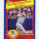2003 Topps Baseball #356 Jason Giambi AS - New York Yankees