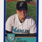 2003 Topps Baseball #273 Jeff Torborg MG - Florida Marlins