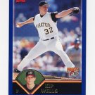 2003 Topps Baseball #203 Kip Wells - Pittsburgh Pirates