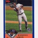 2003 Topps Baseball #119 Randall Simon - Detroit Tigers