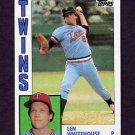 1984 Topps Baseball #648 Len Whitehouse - Minnesota Twins