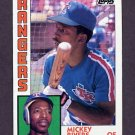 1984 Topps Baseball #504 Mickey Rivers - Texas Rangers