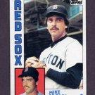 1984 Topps Baseball #472 Mike G. Brown RC - Boston Red Sox