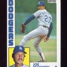 1984 Topps Baseball #454 Joe Beckwith - Los Angeles Dodgers