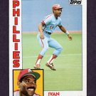 1984 Topps Baseball #279 Ivan DeJesus - Philadelphia Phillies