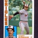 1984 Topps Baseball #260 Scott McGregor - Baltimore Orioles