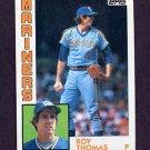 1984 Topps Baseball #181 Roy Thomas - Seattle Mariners