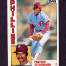 1984 Topps Baseball #101 Porfirio Altamirano - Philadelphia Phillies