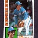 1984 Topps Baseball #089 Mike Smithson - Texas Rangers