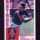 1984 Topps Baseball #045 Jerry Mumphrey - Houston Astros