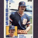 1984 Topps Baseball #024 John Martin - Detroit Tigers