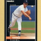 1992 Pinnacle Baseball #190 Walt Terrell - Detroit Tigers