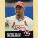 1993 Pinnacle Baseball #304 Bernard Gilkey - St. Louis Cardinals