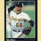 1993 Pinnacle Baseball #283 Blas Minor - Pittsburgh Pirates