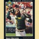 1993 Pinnacle Baseball #268 Henry Mercedes - Oakland A's