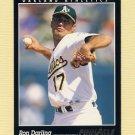 1993 Pinnacle Baseball #199 Ron Darling - Oakland A's
