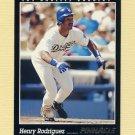 1993 Pinnacle Baseball #182 Henry Rodriguez - Los Angeles Dodgers