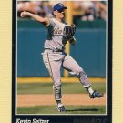 1993 Pinnacle Baseball #117 Kevin Seitzer - Milwaukee Brewers