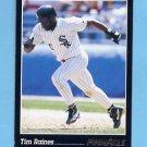 1993 Pinnacle Baseball #053 Tim Raines - Chicago White Sox