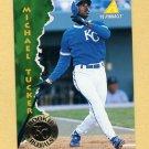 1995 Pinnacle Baseball #426 Michael Tucker - Kansas City Royals