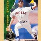 1995 Pinnacle Baseball #406 Andrew Lorraine - California Angels