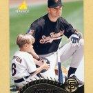 1995 Pinnacle Baseball #385 Robby Thompson - San Francisco Giants