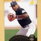 1995 Pinnacle Baseball #311 Roberto Mejia - Colorado Rockies