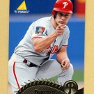 1995 Pinnacle Baseball #246 Lenny Dykstra - Philadelphia Phillies