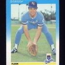 1987 Fleer Baseball #364 Buddy Biancalana - Kansas City Royals