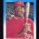 1987 Fleer Baseball #216 Max Venable - Cincinnati Reds