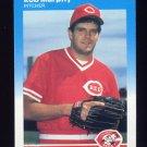 1987 Fleer Baseball #206 Rob Murphy - Cincinnati Reds