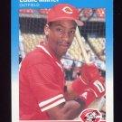 1987 Fleer Baseball #205 Eddie Milner - Cincinnati Reds