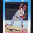 1987 Fleer Baseball #199 John Denny - Cincinnati Reds