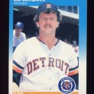 1987 Fleer Baseball #146 Bill Campbell - Detroit Tigers