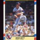1988 Fleer Superstars Baseball #43 Mike Witt - California Angels