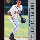 1995 Upper Deck Baseball #007 Glenn Williams - Atlanta Braves