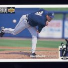 1994 Collector's Choice Baseball #531 Jaime Navarro - Milwaukee Brewers
