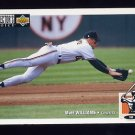 1994 Collector's Choice Baseball #299 Matt Williams - San Francisco Giants