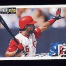1994 Collector's Choice Baseball #252 Reggie Sanders - Cincinnati Reds