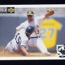 1994 Collector's Choice Baseball #107 Brent Gates - Oakland A's