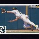 1994 Collector's Choice Baseball #061 Mike Bordick - Oakland A's